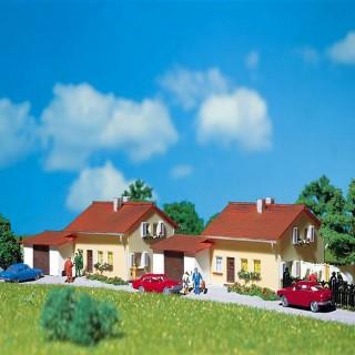 2 grands pavillons maquette à monter -N-1/160-FALLER 232222