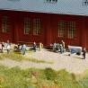 Set d'accessoires pour garage ou atelier d'artisan -HO-1/87-NOCH 14850