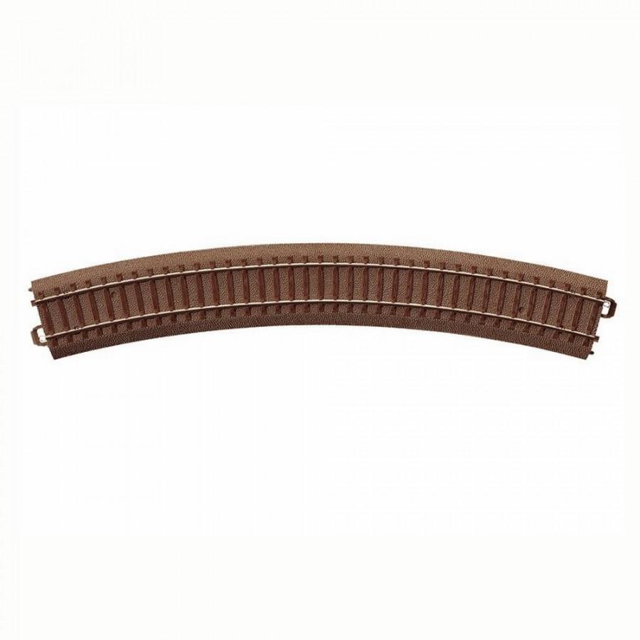 Rail courbe R3 : 515mm à 30 degrés -HO-1/87-TRIX 62330