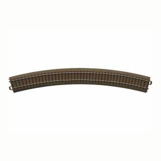 Rail courbe R5 : 643.6mm à 30 degrés -HO-1/87-TRIX 62530