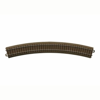 Rail courbe R4 : 579.3mm à 30 degrés -HO-1/87-TRIX 62430