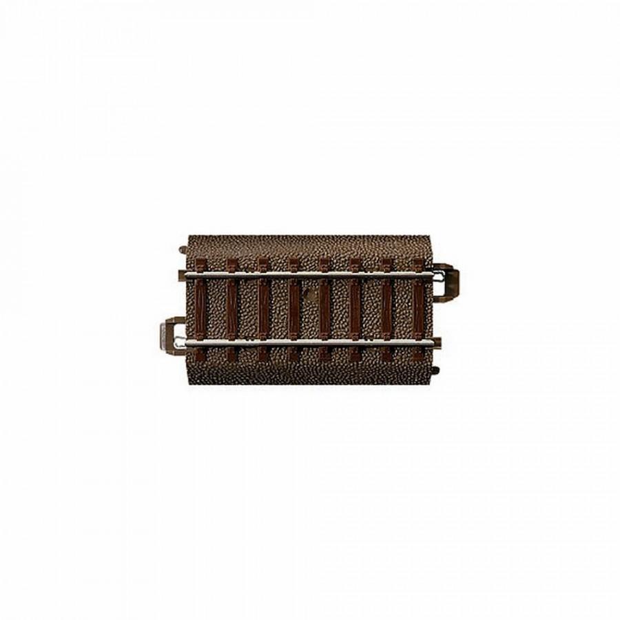 Rail droite 64.3mm -HO-1/87-TRIX 62064