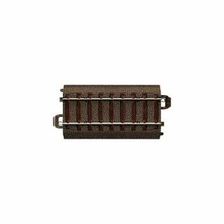 Rail droite 70.8mm bord amovible pour aiguillage long droit -HO-1/87-TRIX 62071