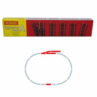 Set d'extension A rails Jouef / Hornby -HO-1/87-HORNBY JOUEF R8221