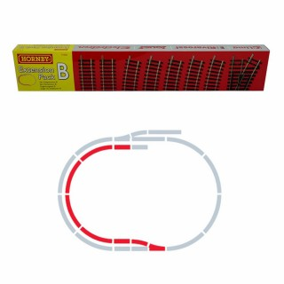 Set d'extension B rails Jouef / Hornby -HO-1/87-HORNBY JOUEF R8222