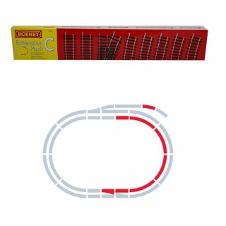 Set d'extension C rails Jouef / Hornby -HO-1/87-HORNBY JOUEF R8223