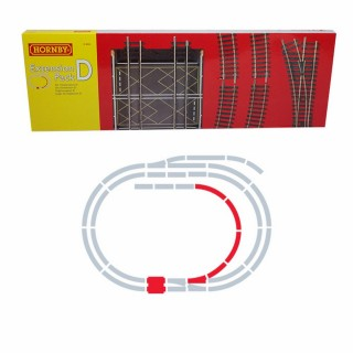 Set d'extension D rails Jouef / Hornby  -HO-1/87-HORNBY JOUEF R8224