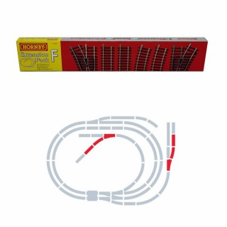 Set d'extension F rails Jouef / Hornby -HO-1/87-HORNBY JOUEF R8226