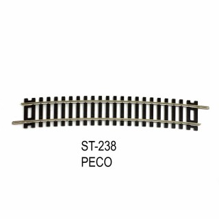 Rail Setrack courbe R4 812.80mm 11.25° code 100-HO-1/87-PECO ST-238