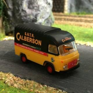 Camion Saviem SG2 réhaussé Calberson-HO-1/87-IGRA 2912