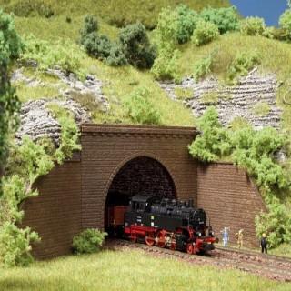 2 entrées de tunnel deux voies-N-1/160-AUHAGEN  44636