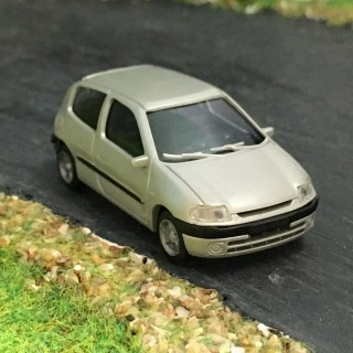 Renault Clio 2 gris boréal 3 portes -HO-1/87-AWM SAI 2282