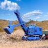 Excavatrice Menck Bagger maquette à monter -HO-1/87-KIBRI 11265