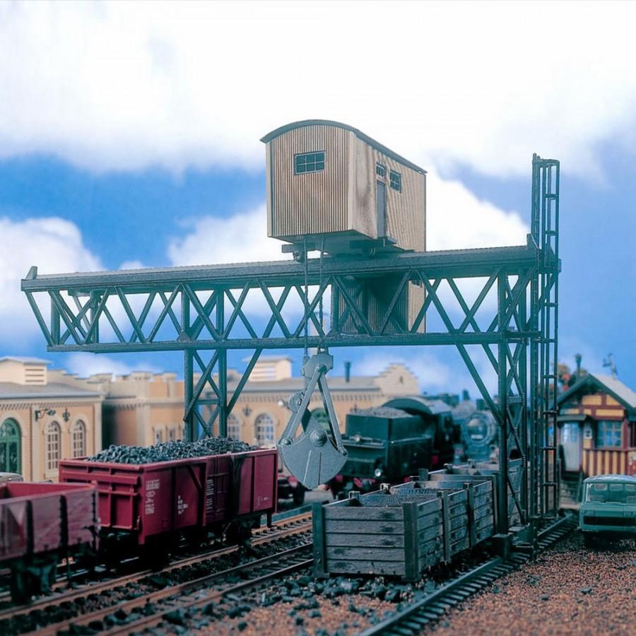 Pont roulant pour chargement charbon -HO-1/87-VOLLMER 45714