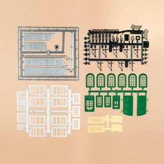 Set de fenêtres et d'accessoires pour maquettiste- ho-1/87-AUHAGEN  48551