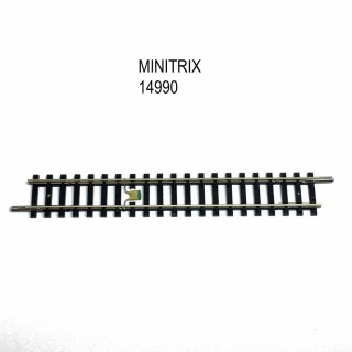 Rail droit 104.2mm avec dispositif antiparasitage -N-1/160-MINITRIX 14990