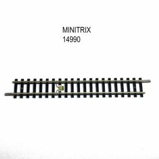 Rail droit 104.2mm avec dispositif antiparasitage -N-1/160-MINITRIX 14990