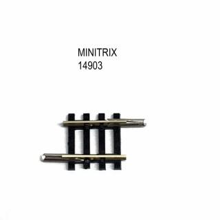 Rail petite droite 17.2mm -N-1/160-MINITRIX 14903