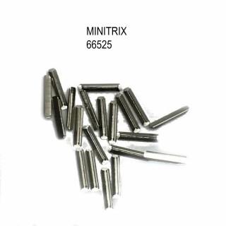 20 éclisses métallique jonction des rails -N-1/160-MINITRIX 66525