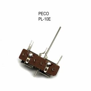 Moteur d'aiguillage sous table avec tige recoupable-HO-1/87-PECO PL-10E