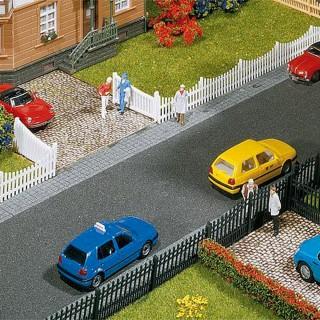 Clôture de jardin en lames ajourées 540mm 2 couleurs-N-1/160-FALLER 272406