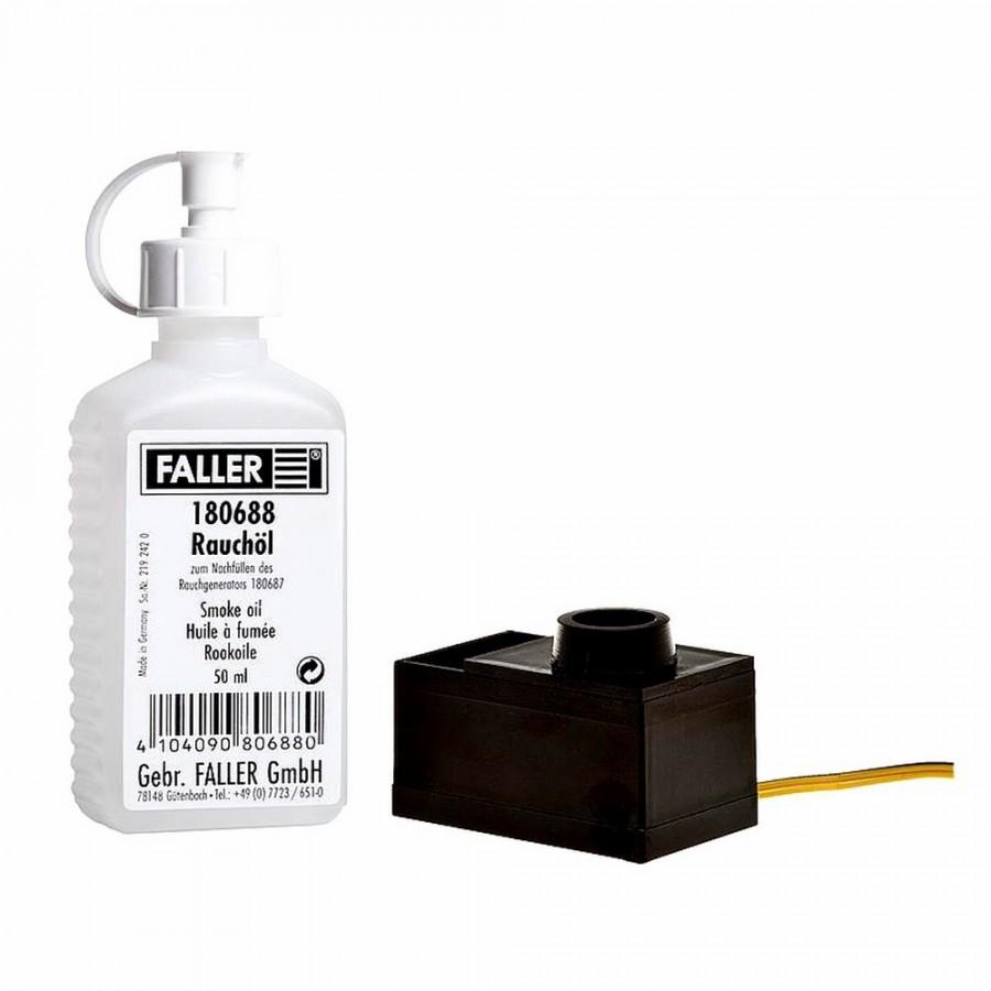 Générateur de fumée pour maquettes-Toutes échelles-FALLER 180690
