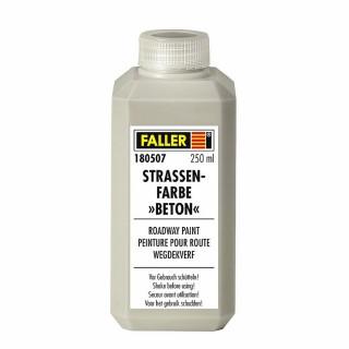 Peinture pour la création de route type béton-toutes échelles-FALLER 180507