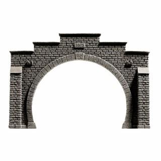 Entrée de tunnel 2 voies -HO-1/87-NOCH 58052