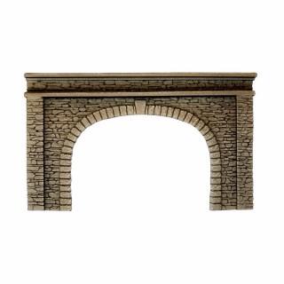 Entrée de tunnel 2 voies-HO-1/87-NOCH 58062