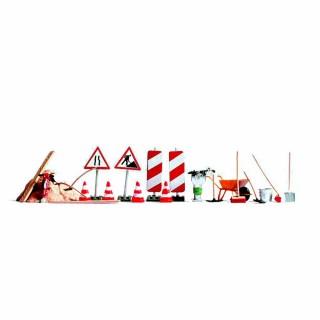 Accessoires pour les travaux sur route-HO-1/87-NOCH 14805