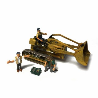 Bulldozer avec chauffeur et mécanicien -HO-1/87-WOODLAND SCENICS AS5558