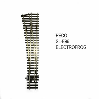 Streamline aiguillage gauche 219mm electrofrog code 100-HO-1/87-PECO SL-E96