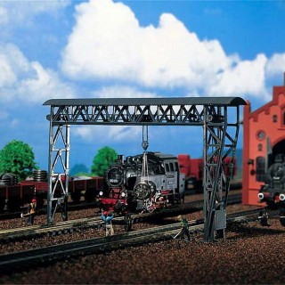 Grue portique des chemins de fer-N-1/160-FALLER 222199