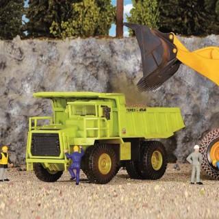 Dumper camion benne géant de carrière maquette à monter -HO-1/87-KIBRI 14058