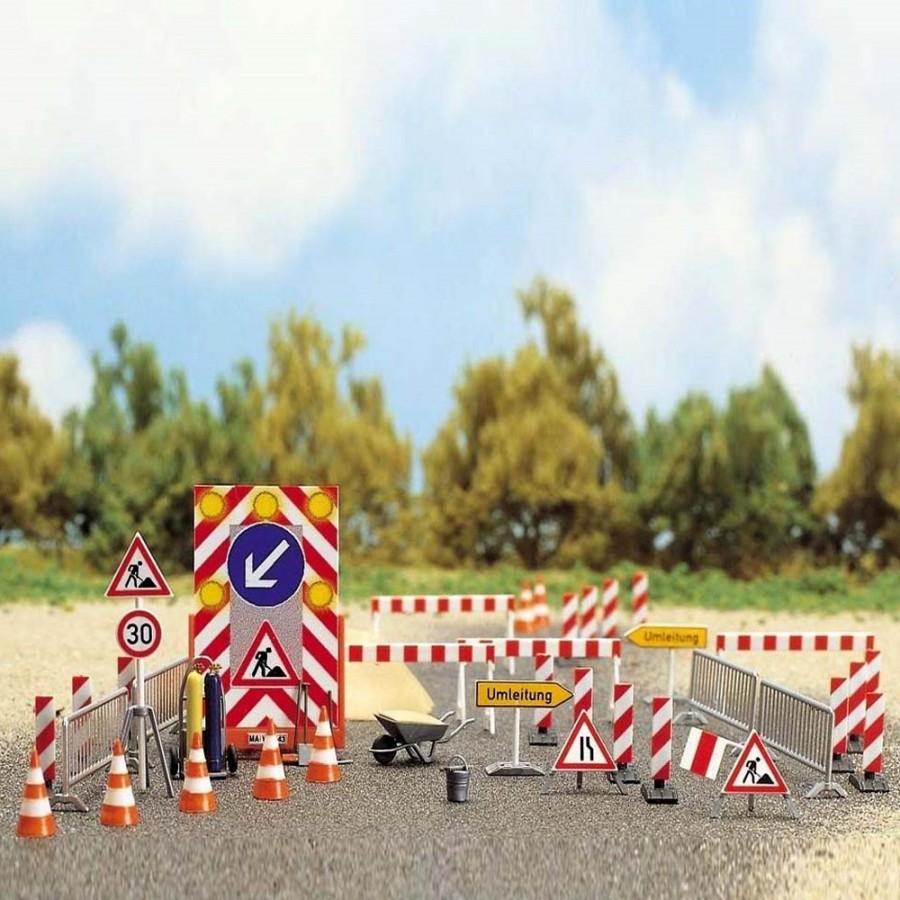 Accessoires et signalisations de chantier-HO-1/87-BUSCH 6048