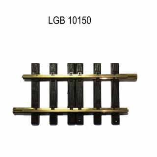 Rail droit 150mm train de jardin -G-1/28-LGB 10150