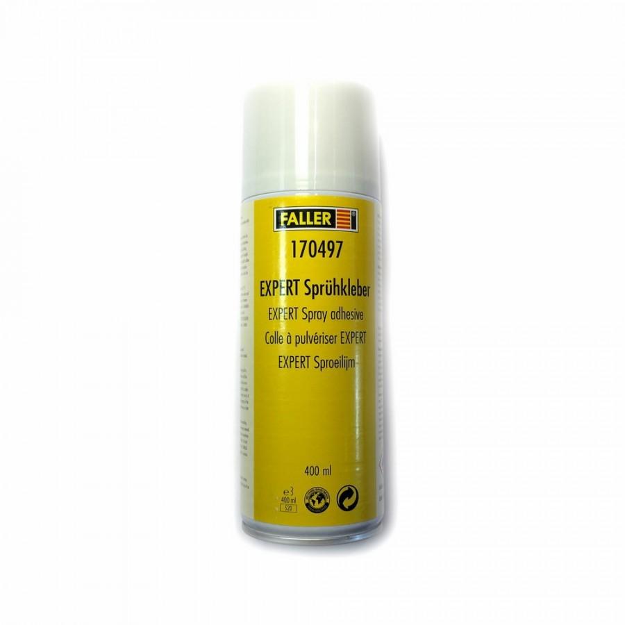 Colle expert à pulvériser élastique et incolore 400ml-FALLER 170497