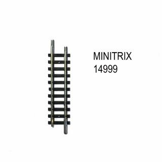 Rail droit 59mm de transition pour rail Arnold -N-1/160-MINITRIX 14999