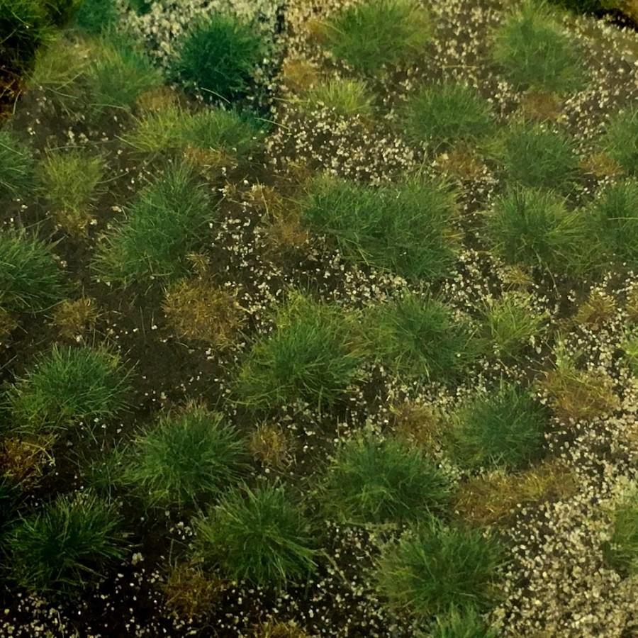 Tapis d'herbe structurée de forêt 190 par 300mm- Toutes échelles-HEKI 1882