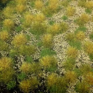 Tapis d'herbe structurée couleur d'automne 190 par 300mm- Toutes échelles-HEKI 1881