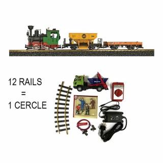 Coffret de démarrage vapeur + 2 wagons train de jardin -G-1/22.5-LGB 70403
