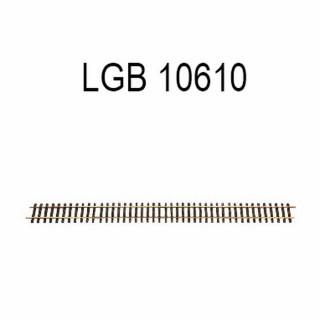 Rail droit 1200mm train de jardin -G-1/28-LGB 10610