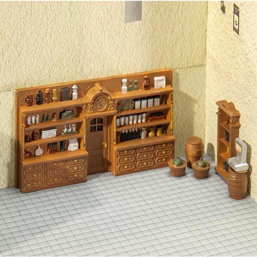 Aménagement intérieur d'ancienne boutique-HO-1/87-FALLER 180923