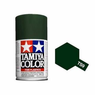 Vert Anglais Brillant Spray de 100ml-TAMIYA TS9