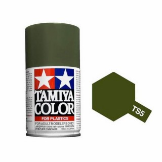 Olive Drab mat Spray de 100ml-TAMIYA TS5