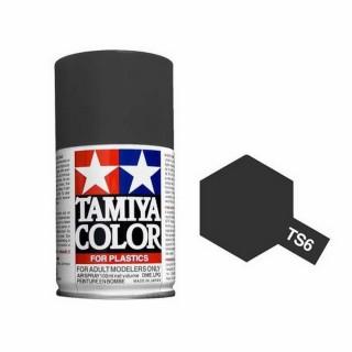 Noir mat Spray de 100ml-TAMIYA TS6