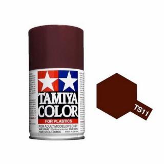 Marron Brillant Spray de 100ml-TAMIYA TS11