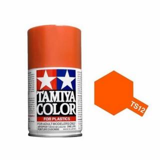 Orange Brillant Spray de 100ml-TAMIYA TS12