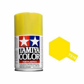 Jaune Brillant Spray de 100ml-TAMIYA TS16