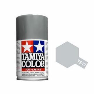 Aluminium Brillant Spray de 100ml-TAMIYA TS17